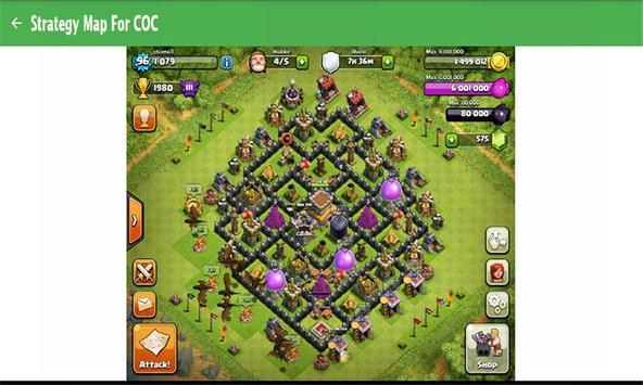Strategy Map For COC poster