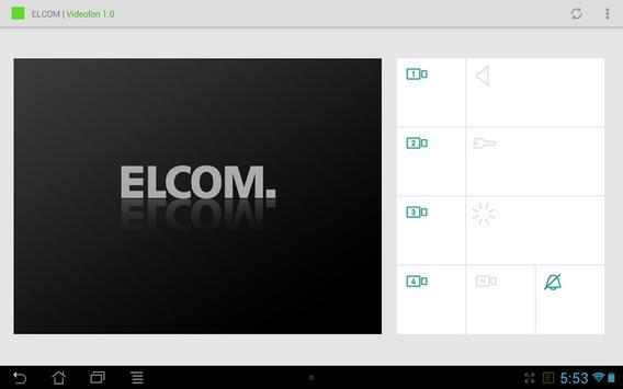 ELCOM Videofon 1.1 apk screenshot