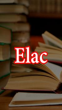 ELAC Used Books poster
