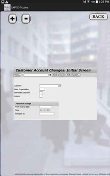 SAP SD Tcode with Screenshots apk screenshot