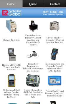 Electro Rent Power Equipment poster
