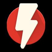 Flash - chat via missed calls icon