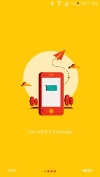 Flash - chat via missed calls poster