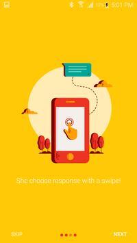 Flash - chat via missed calls apk screenshot