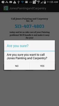 Jones Painting and Carpentry apk screenshot