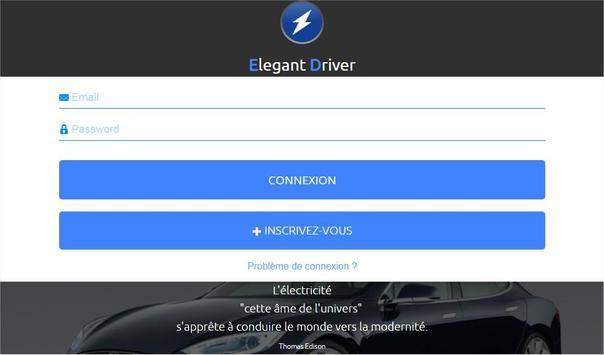 Elegant Driver Chauffeur apk screenshot