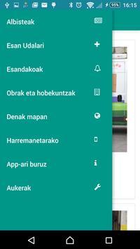 Lezoko Udala apk screenshot