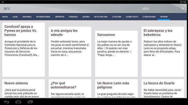 El Horizonte apk screenshot