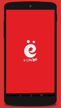 e-Life Ask poster