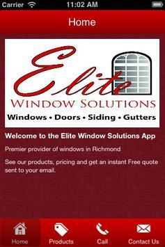 Elite Window Solutions poster