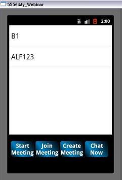 Eliveoffice:Webmeeting Manager apk screenshot
