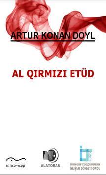 Al qırmızı etüd (Konan Doyl) poster