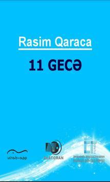 On bir gecə (Rasim Qaraca) poster