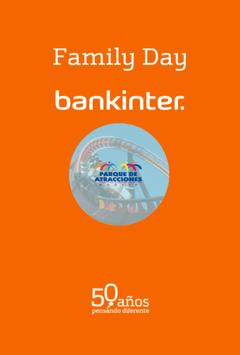 Family Day Bankinter poster