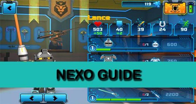 Guide LEGO NEXO KNIGHTS poster