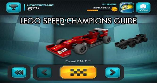 Guide LEGO Speed Champions poster
