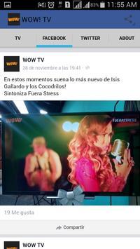 WOW TV EL SALVADOR apk screenshot
