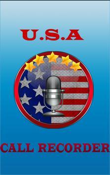 CALL RECORDER U.S.A poster