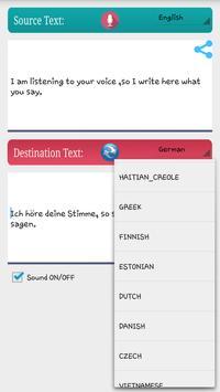 Translator: VoiceDic FREE apk screenshot