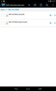EMC Education Services eBook apk screenshot