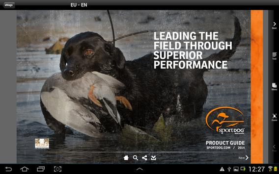 SportDOG® Product Guide apk screenshot