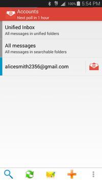 Sync gmail all Mail App apk screenshot
