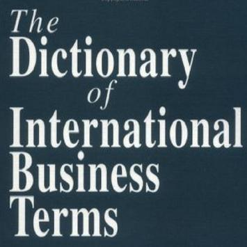 Business Dictionary poster