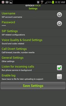 EMAXX Voice apk screenshot