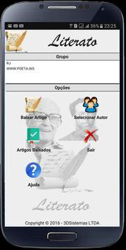 Literato App Leitor de textos poster
