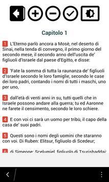 Bibbia in italiano poster