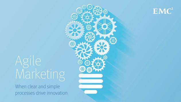 EMC Agile Marketing poster