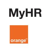 Orange MyHR icon