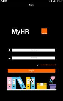 Orange MyHR apk screenshot