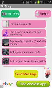 Girl Safety apk screenshot