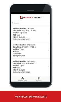 Dispatch Alert apk screenshot