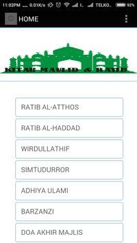 Kitab Maulid & Ratib poster