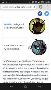 Cheats Shadow Fight 2 Guide apk screenshot