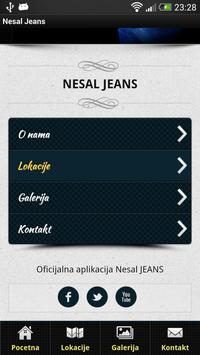 Nesal Jeans poster