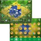 Brazil 2016 Emoji iKeyboard icon