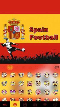 Spain Football Emoji iKeyboard poster