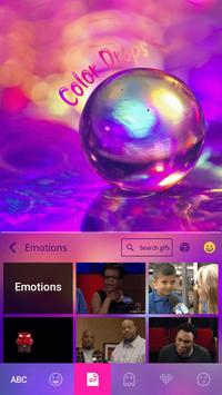 Color Drops Theme for Keyboard apk screenshot