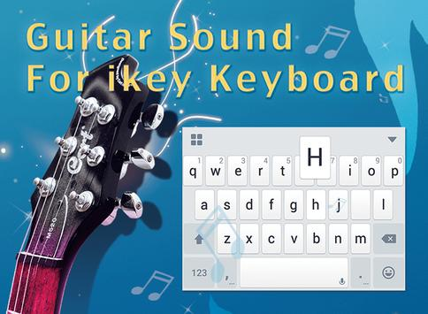 Guitar Sound for iKeyboard apk screenshot