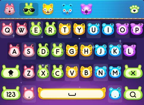 Animal for FancyKey Keyboard poster