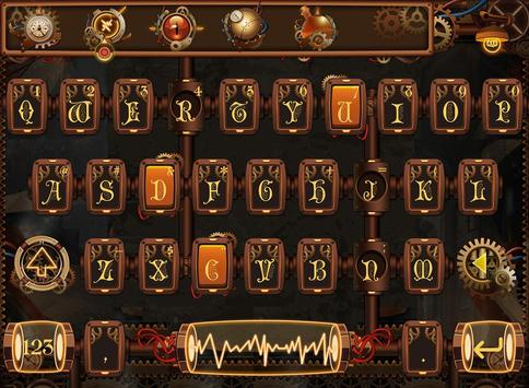SteamPunk FancyKey Keyboard poster