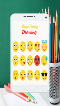 Emoticons Drawing poster
