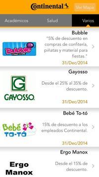 Club del Empleado Conti GDL apk screenshot