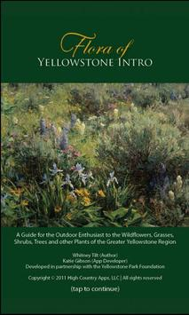 Flora of Yellowstone Intro poster