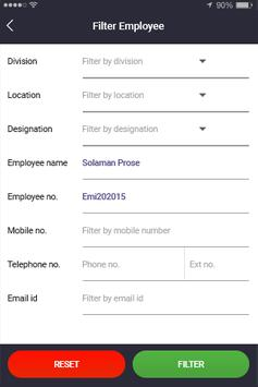 SAP Employee Directory apk screenshot