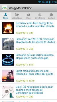 Energy Market Price poster