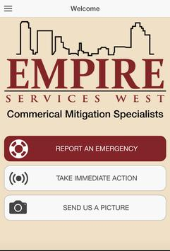 Empire Services West poster